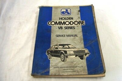 Holden Commodore Vb Series Service Manual