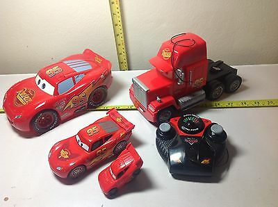 Disney/Pixar CARS collection of Remote control vehicles (not working)
