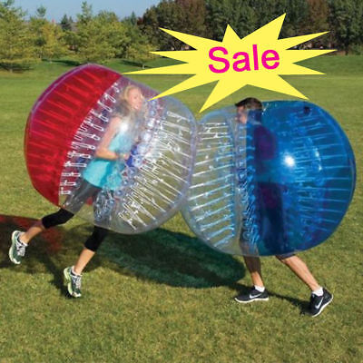 Big Sale 1.5 M Blue Bubble Soccer Ball Body Inflatable Bumper Football Ball