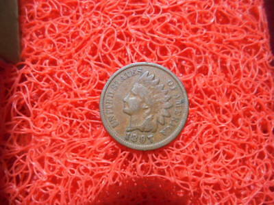 "1897 Indian Head One Cent Showing ""Liberty"" WoW !!"