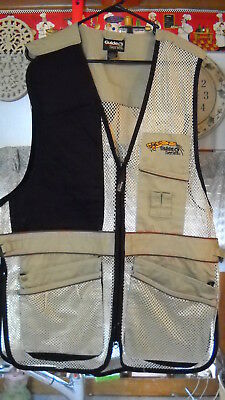 Guide Series Men's Size Large Shooting Vest Mesh Body NWT