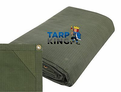 Ripstop Strong Canvas Tarp 1.2m x 1.8m - Tarpaulin Camping Trailer Cover