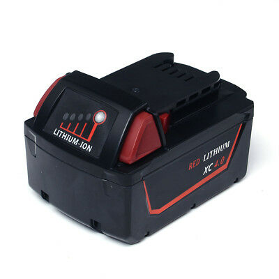 New for Milwaukee 18V M18 Red XC 4.0 4 Ah Battery 48-11-1840 Replacement