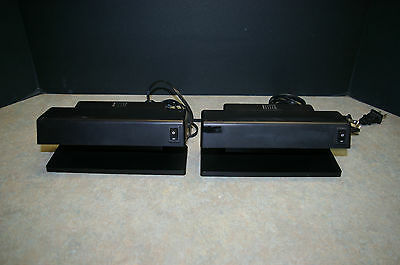 Lot Of 2 Roger Electronic Model Md-188Etl Cash Checkers - Tested And Working