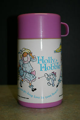 Vintage 1989 'holly Hobbie' Aladdin Thermos