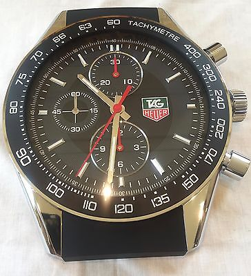 TAG HEUER wall clock CARRERA rare quartz movement