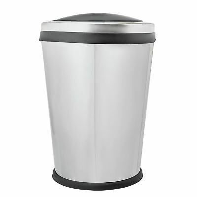 HOME 60 Litre Oval Touch Top Kitchen Bin
