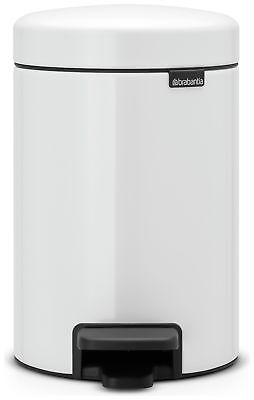 Brabantia 3 Litre NewIcon Pedal Bin - White From the Official Argos Shop on ebay