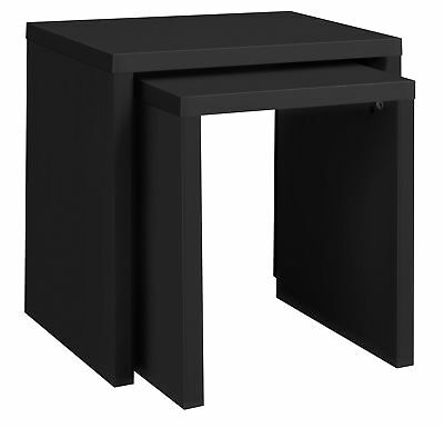 HOME Oscar Nest of 2 Tables - Black. From the Official Argos Shop on eba V101089