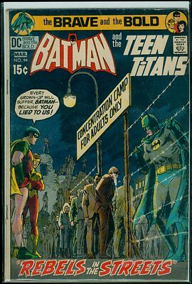 DC Comics The BRAVE And The BOLD #94 BATMAN & TheTeen Titans VG 4.0