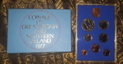 1977 Coinage of Great Britain and Northern Ireland Proof Set