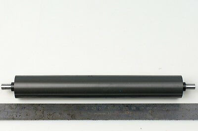 Precision Conveyor Roller 208mm x 30mm Crown 0.5 Hardened Aluminum Hard Anodized