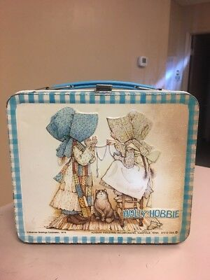 Vintage 1979 Holly Hobbie Lunch Box