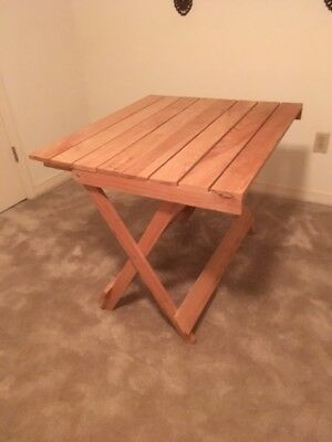 Large Wooden Folding Table Local Pickup or Send Your Shipper!!!