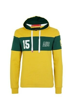 (Small, Z72 Yellow) - Front Up Rugby Men's Twenty15 Hoody Mid Layers