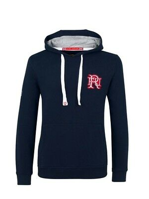 (Medium, Z73 Navy) - Front Up Rugby Men's Ruck and Maul Hoody Mid Layers