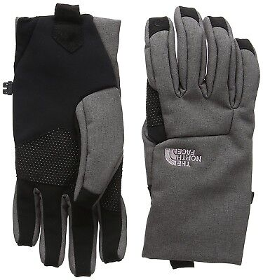 (Large, Grey/rabbit Gry Hthr) - The North Face Women's Apex Etip Gloves