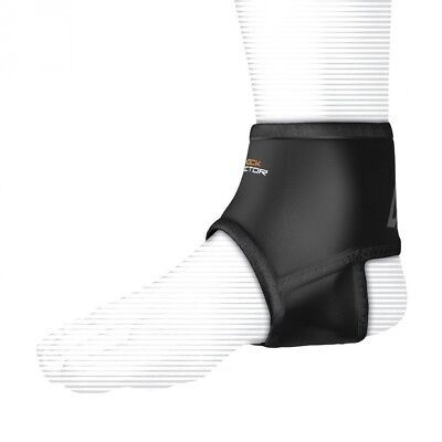 (Small, Black) - Shock Doctor Ankle Support Sleeve with Compression Fit