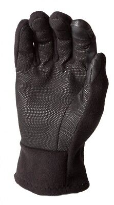 HWI Touchscreen Fleece Glove - Black, Small. Delivery is Free