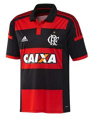 Adidas Mens CR Flamengo Brazil Home Football Soccer Jersey Shirt Polo XL  X-Large f70387f51