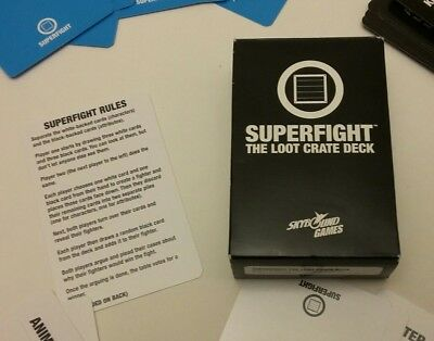 Superfight: the loot crate deck exclusive 110 card deck by skybound games
