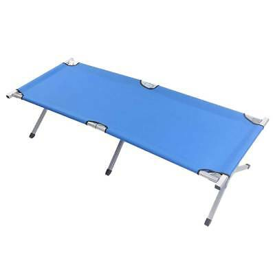 Portable Outdoor Folding Sleeping Bed Cot Camping Hiking Military Travel