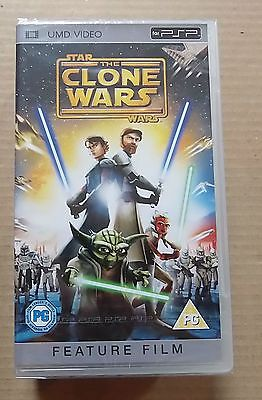 Star Wars, Clone Wars (New & Sealed)(Sony PSP UMD Video) Free Postage