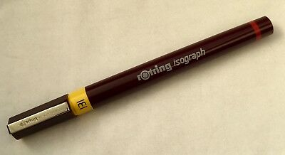 ROTRING ISOGRAPH TECHNICAL DRAWING PEN - 0.35mm 0,35mm NIB SIZE - NEW