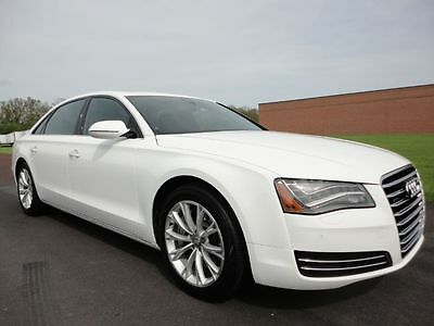 2012 Audi A8 Sedan 4-Door 2012 AUDI A8L 4.2L V8 AWD NAV REAR CAM QUATTRO $90k MSRP CLEAN CARFAX WE FINANCE
