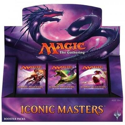 magic the gathering Iconic Masters pre order, release date 17th November.