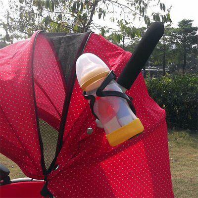 Drink Holder Baby Stroller Milk Cup Bottle Holder for Pram Pushchair Bike HS