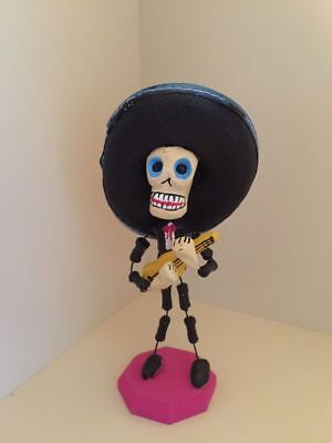 Day of the Dead Figurine from Mexico - Mariachi with Guitar