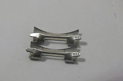 OMEGA 20mm End LINK 633 for Speedmaster MOONWATCH one pair