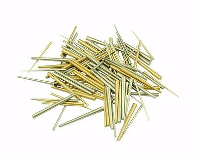 Proops Pack of 100 Brass & Steel Tapered Pins Clock Watch Repairs X1159