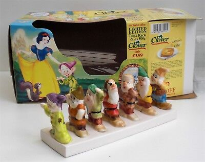 Clover Limited Edition Snow White And The Seven Dwarfs Toast Rack Boxed