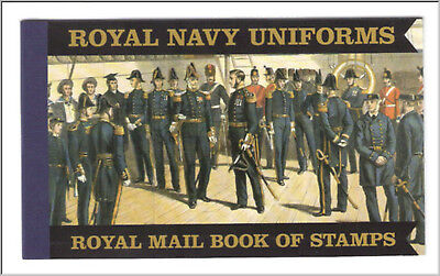 GB Prestige booklet - DX47 Royal Navy Uniforms 2009 - mint and complete