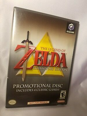 the Legend of Zelda Collector's Edition (Nintendo GameCube, 2003) - Used