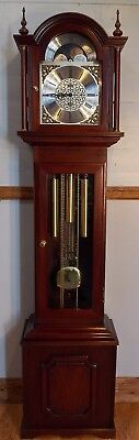 Grandfather Clock(1) Exc condHermle triple chimes/NATIONWIDE PERSONAL DELIVERIES