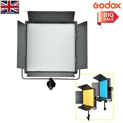 UK Godox LED1000W Studio LED Video Continuous Light White version With  Remote