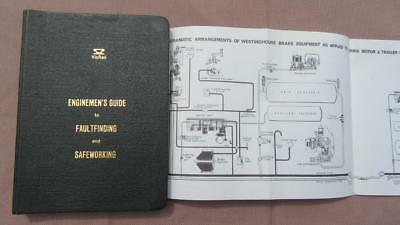 1981 VicRail Enginemen's Guide to Faultfinding & Safeworking with Spread Out Dia