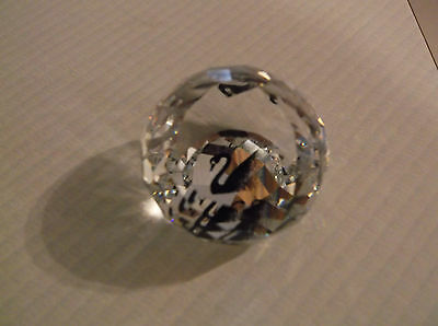 Swarovski paperweight Collectors Society small  with box