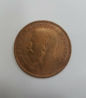1918 One Penny Coin