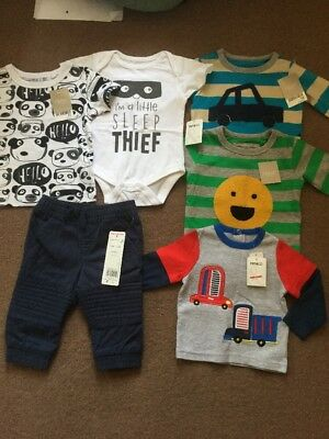 Next, Pep&Co, F&F Baby Boys Clothes Bundle Brand New With Tags Age 3-6 Months