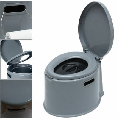 5L Portable Toilet Compact Potty Loo Camping Caravan Picnic Fishing Festivals