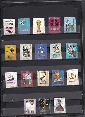 Qatar - 2002 World Cup Soccer - 18 Stamps - Comp Set