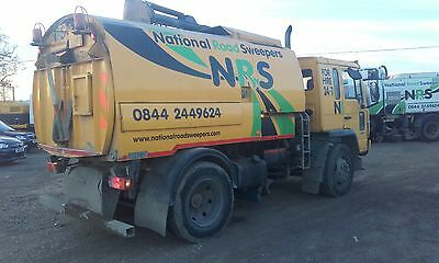 Volvo Johnston 600 Road Sweeper