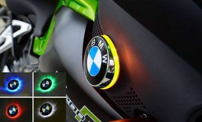 BMW K1200R BICOLOR LED INTERMITENTE CON EMBLEMA K 1200R : Verde/Amarillo