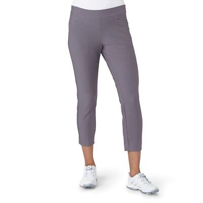 (Large, Trace Grey) - adidas Golf Women's Ultimate Adistar Ankle Pants