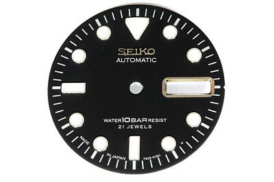 Dial for Seiko 10bar 7S26-0050 divers watches - color black
