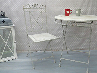 Garden Chair from Metal, Folding, very sturdy, Height approx. 93 cm